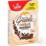 Гранола Sante Злакові пластівці з шоколадом 500г