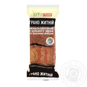 Bread Vitiograno Wholegrain rye 440g packaged - buy, prices for MegaMarket - image 1