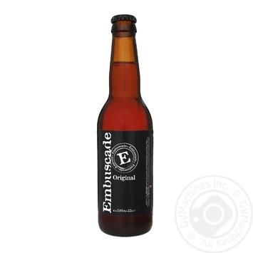 Пиво Embuscade фруктовое нефильтрованное 0,33л