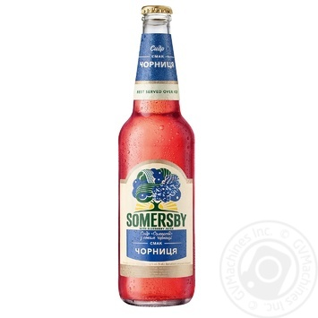 Somersby with blueberry juice cider 4.7% 0,5l - buy, prices for Novus - image 1