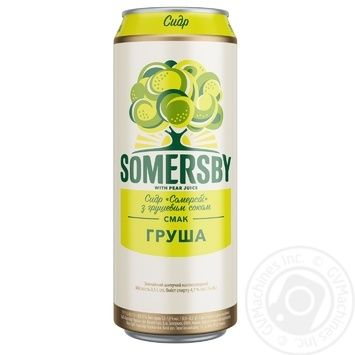 Somersby with pear juice Cider 4.7% 0,5l
