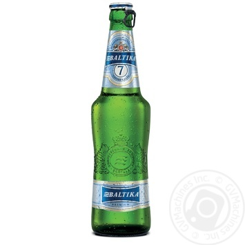 Baltika №7 Premium Blonde Beer 0,5l - buy, prices for Furshet - image 1