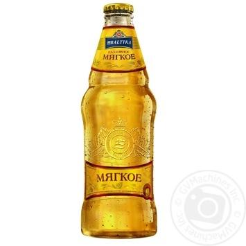 Пиво Балтика Разливное Мягкое светлое 4,4% 0,44л