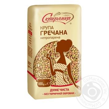 Skviryanka №5 not steamed buckwheat groats 800g - buy, prices for MegaMarket - image 1