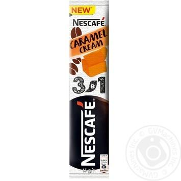 Напій кавовий NESCAFÉ® 3-в-1 Caramel зі смаком карамелі розчинний стік 13г - купити, ціни на Novus - фото 1