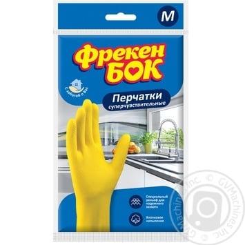 Перчатки Фрекен Бок универсальные средний размер М - купить, цены на Novus - фото 1