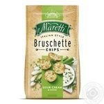 Maretti with crem and onion bruschette chips 70g