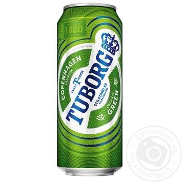 Пиво Green Light світле 4,6% 0,5л - купити, ціни на Novus - фото 1