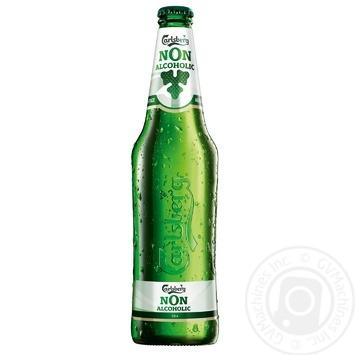 Пиво Carlsberg безалкогольное 0,5л - купить, цены на Novus - фото 1