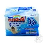 Влажные салфетки Goo.N для чувствительной кожи 3 сменных блока по 70шт