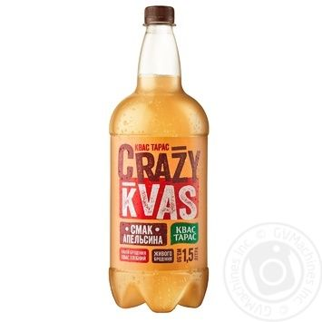 Kvas Taras crazy kvass 1500ml - buy, prices for Metro - image 1