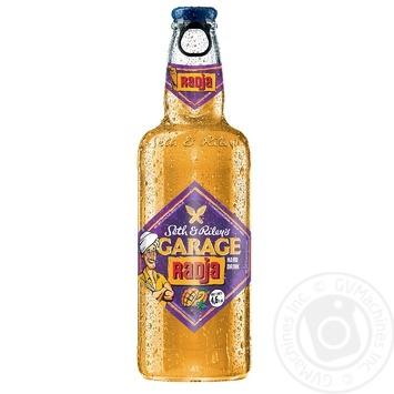 Пиво Seth & Riley's GARAGE Radja светлое специальное пастеризованное 4,6% 0,44л - купить, цены на Novus - фото 1