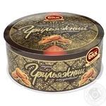 Торт БКК Грильяжний глазурований 450г