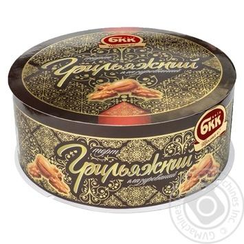 Торт БКК грильяжный глазированный 450г - купить, цены на Восторг - фото 4