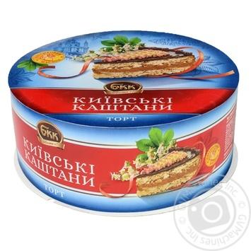 Торт БКК Киевские каштаны 850г - купить, цены на Novus - фото 1