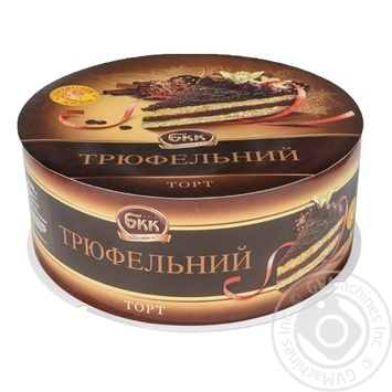 BKK Truffle chocolate cake 850g - buy, prices for Auchan - photo 1