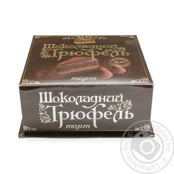 Торт БКК Шоколадный трюфель 700г - купить, цены на Novus - фото 1
