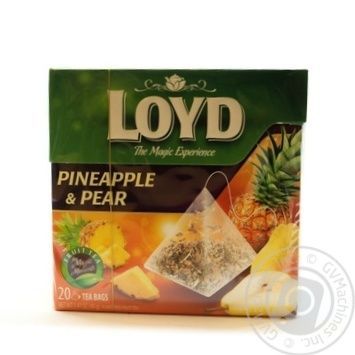 Tea Loyd Private import fruit pineapple 20pcs 40g