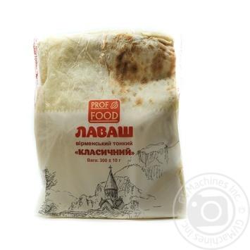 Лаваш Prof Food Классический армянский тонкий 300г - купить, цены на Novus - фото 1