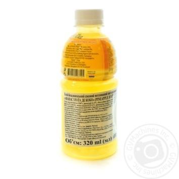 Напій LUCK SIAM безалкогольний соковий негазований пастеризований Ананас з Ната де Коко п/пл 320 мл - купить, цены на Novus - фото 2