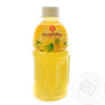 Напій LUCK SIAM безалкогольний соковий негазований пастеризований Ананас з Ната де Коко п/пл 320 мл - купить, цены на Novus - фото 1