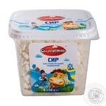 Cottage cheese Smakovenki sour milk 0% 350g Ukraine