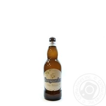 Пиво Hoegaarden Wit-Blanche світле 4,9% 0,75л - купити, ціни на МегаМаркет - фото 3