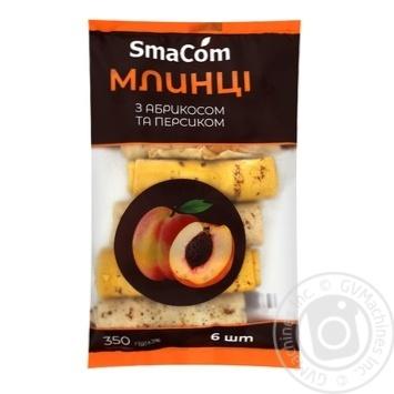 Блины SmaСom с абрикосом и персиком 350г - купить, цены на Novus - фото 1