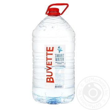 Вода мінеральна Buvette Smart Water негазована 5л - купити, ціни на Метро - фото 1