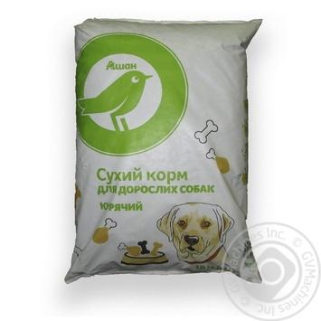 Сухий корм Ашан для дорослих собак курячий 10кг - купити, ціни на Ашан - фото 2