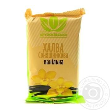 Халва Дружківська соняшникова ванільна 300г - купити, ціни на Novus - фото 1