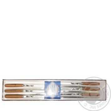Набор шампуров Time Eco 6шт*60см - купить, цены на СитиМаркет - фото 1