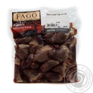 Серце качине Fago в/у ваг