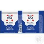 Пиво Kronenbourg 1664 Blanc светлое нефильтрованное 4шт 4,8% 0,33л - купить, цены на Ашан - фото 2