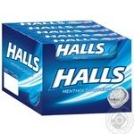 Halls Candies with menthol flavored 25,2g