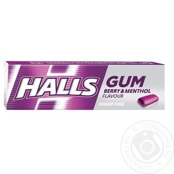 Жувальна гумкa Halls pі смаком ментолу та чорної смородини 14г - купити, ціни на ЕКО Маркет - фото 1