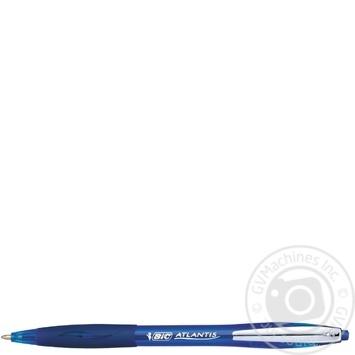 Ручка BIC Atlantis синяя - купить, цены на Novus - фото 1