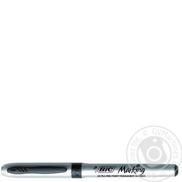 Маркер Bic перманентний чорний для CD/DVD - купить, цены на Novus - фото 1