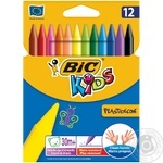 ВІС Plastidecor Assorted Colored Crayons 12pcs