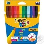 BIC Kids Visa Felt Pens 12pcs - buy, prices for Novus - image 1