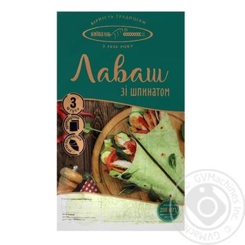 Лаваш Київхліб зі шпинатом 3шт 200г - купити, ціни на Фуршет - фото 1