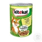 Корм для котов Kitekat с курицей 400г