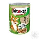 Kitekat conserve for cats with duck in jelly 400g