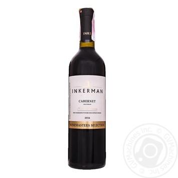 Вино Inkerman Cabernet красное сухое 14% 0,75л - купить, цены на Novus - фото 5