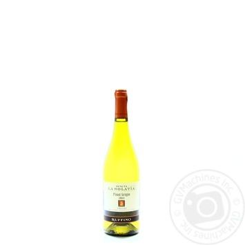 Вино Ruffino La Solatia Pinot Grigio 2010 белое сухое 13,5% 0,75л