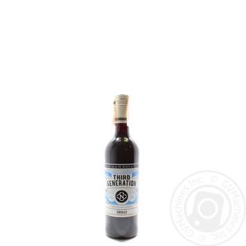 Shiraz Third Generation Dry Red Wine 11-13% 750ml - buy, prices for CityMarket - photo 1