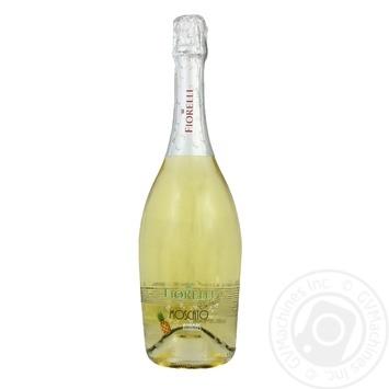 Напиток винный игристый Fiorelli Cocktails Moscato Ananas Dolce    белый сладкий  6,5% 0,75л - купить, цены на Novus - фото 1