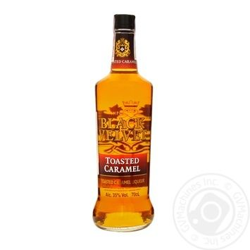 Velvet Toasted Caramel liquor 35% 700ml - buy, prices for Novus - image 1