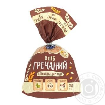Хліб Кулінічі Гречаний половинка нарізана 350г