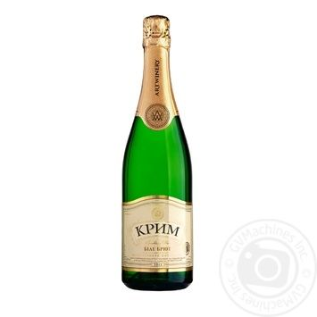 Artwinery Crimea Sparkling wine brut 13.5% 0,75l - buy, prices for CityMarket - photo 1